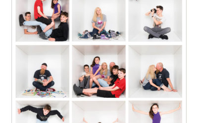 Your white box family portrait